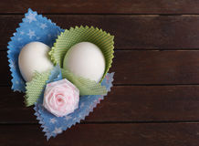 Διακόσμηση ή αυγό Πάσχα αυγών Στοκ φωτογραφία με δικαίωμα ελεύθερης χρήσης