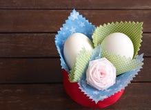 Διακόσμηση ή αυγό Πάσχα αυγών Στοκ Φωτογραφία