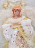 Διακόσμηση αγγέλου Χριστουγέννων Στοκ Φωτογραφία