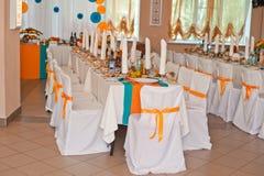 Διακόσμηση αιθουσών στο γάμο 1299 Στοκ Φωτογραφία