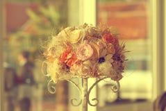 Διακόσμηση ανθοδεσμών λουλουδιών Στοκ φωτογραφία με δικαίωμα ελεύθερης χρήσης
