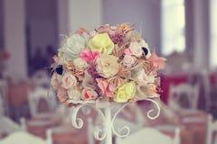 Διακόσμηση ανθοδεσμών λουλουδιών Στοκ Φωτογραφίες