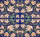 Διακόσμηση από τα φύλλα Στοκ Εικόνες