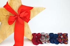 Διακόσμηση αστεριών Χριστουγέννων στοκ εικόνα με δικαίωμα ελεύθερης χρήσης