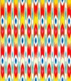 Διακόσμηση ατλάντων Khan ikat διανυσματική απεικόνιση