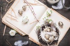 Διακόσμηση αυγών Πάσχας Στοκ εικόνες με δικαίωμα ελεύθερης χρήσης