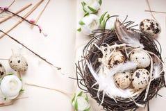 Διακόσμηση αυγών Πάσχας Στοκ φωτογραφίες με δικαίωμα ελεύθερης χρήσης