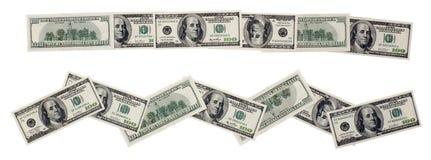 διακόσμηση δολαρίων Στοκ φωτογραφίες με δικαίωμα ελεύθερης χρήσης