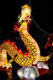 Διακόσμηση δράκων για το κινεζικό νέο έτος Στοκ Εικόνες