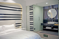Διακόσμηση, εσωτερικό σχέδιο σχεδίου ξενοδοχείων εσωτερικό, στοκ εικόνες
