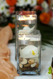 Διακόσμηση κεριών Στοκ εικόνα με δικαίωμα ελεύθερης χρήσης