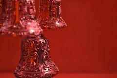 Διακόσμηση κουδουνιών Χριστουγέννων Στοκ Εικόνα