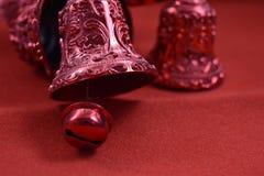 Διακόσμηση κουδουνιών Χριστουγέννων Στοκ Εικόνες