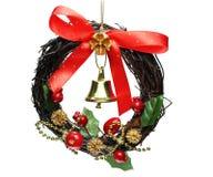 Διακόσμηση κουδουνιών Χριστουγέννων Στοκ φωτογραφίες με δικαίωμα ελεύθερης χρήσης