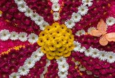 Διακόσμηση λουλουδιών στο φεστιβάλ λουλουδιών της Μαδέρας Νησιά της Μαδέρας, Στοκ Φωτογραφία