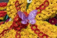 Διακόσμηση λουλουδιών στο φεστιβάλ λουλουδιών της Μαδέρας Νησιά της Μαδέρας, Στοκ εικόνες με δικαίωμα ελεύθερης χρήσης