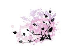 διακόσμηση λουλουδιών Απεικόνιση αποθεμάτων