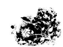 διακόσμηση λουλουδιών Διανυσματική απεικόνιση