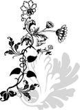 διακόσμηση λουλουδιών Στοκ Εικόνες
