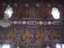 Διακόσμηση μέσα στο διακοσμημένο μουσουλμανικό τέμενος στο Τέτοβο Στοκ Εικόνα