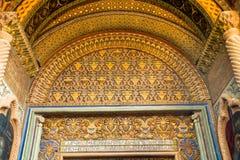 Διακόσμηση μέσα στο καμπαναριό στον καθεδρικό ναό Echmiadzin Στοκ φωτογραφία με δικαίωμα ελεύθερης χρήσης