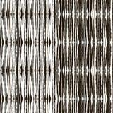 Διακόσμηση με τα συρμένα φύλλα σε γραπτό Διανυσματική απεικόνιση