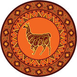 Διακόσμηση με llama Στοκ φωτογραφία με δικαίωμα ελεύθερης χρήσης