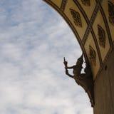 Διακόσμηση μνημείων Patuxay Στοκ φωτογραφία με δικαίωμα ελεύθερης χρήσης