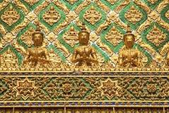 Ναός στο μεγάλο παλάτι Μπανγκόκ Ταϊλάνδη Στοκ Φωτογραφίες