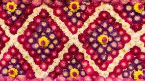 Διακόσμηση λουλουδιών από το φεστιβάλ λουλουδιών, Ταϊλάνδη Στοκ φωτογραφία με δικαίωμα ελεύθερης χρήσης
