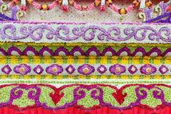 Διακόσμηση λουλουδιών από το φεστιβάλ λουλουδιών Chiang Mai, Ταϊλάνδη Στοκ Εικόνα
