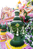 Διακόσμηση λουλουδιών από το φεστιβάλ λουλουδιών Chiang Mai Στοκ Φωτογραφίες