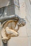 Διακόσμηση πορτών αγαλμάτων αγγέλου Στοκ εικόνες με δικαίωμα ελεύθερης χρήσης