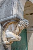 Διακόσμηση πορτών αγαλμάτων αγγέλου Στοκ Φωτογραφία