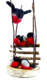 διακόσμηση πουλιών Στοκ φωτογραφίες με δικαίωμα ελεύθερης χρήσης