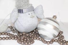 Διακόσμηση πουλιών Χριστουγέννων Στοκ Φωτογραφίες