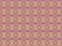 Διακόσμηση που σύρεται στην κιμωλία, γεωμετρικό σχέδιο του ρόμβου με τις γραμμές διαφορετικών χρωμάτων ελεύθερη απεικόνιση δικαιώματος