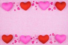 διακόσμηση ρομαντική, ST valentine& x27 έννοια ημέρας του s, τοπ άποψη του fla Στοκ φωτογραφίες με δικαίωμα ελεύθερης χρήσης