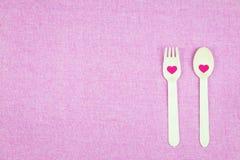διακόσμηση ρομαντική, ST valentine& x27 έννοια ημέρας του s, τοπ άποψη του fla Στοκ Εικόνες