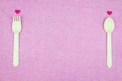 διακόσμηση ρομαντική, ST valentine& x27 έννοια ημέρας του s, τοπ άποψη του fla Στοκ φωτογραφία με δικαίωμα ελεύθερης χρήσης