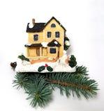 Διακόσμηση σπιτιών Χριστουγέννων Στοκ φωτογραφία με δικαίωμα ελεύθερης χρήσης