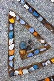 Διακόσμηση στην πέτρα Στοκ Εικόνα