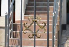 Διακόσμηση στην πύλη Στοκ Φωτογραφία