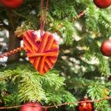 Διακόσμηση στοιχείων τεχνών καρδιών βαλεντίνων Στοκ εικόνα με δικαίωμα ελεύθερης χρήσης
