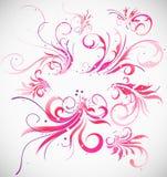 διακόσμηση συλλογής floral διανυσματική απεικόνιση
