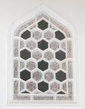 Διακόσμηση τοίχων Ισλάμ με το παράθυρο Στοκ Εικόνες