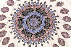 Διακόσμηση του μουσουλμανικού τεμένους Sehzade, που χτίζεται ανώτατη το 1548 από Mimar Sin Στοκ φωτογραφία με δικαίωμα ελεύθερης χρήσης