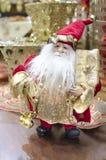 Διακόσμηση του νέου έτους Άγιου Βασίλη στοκ εικόνα