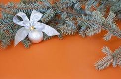 Διακόσμηση του νέου έτους Στοκ φωτογραφία με δικαίωμα ελεύθερης χρήσης