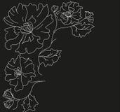 Διακόσμηση των λουλουδιών για μια τρύπα στοκ εικόνα